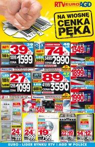 Gazetka Promocyjna Rtv Euro Agd Od 20130325 Do 20130424