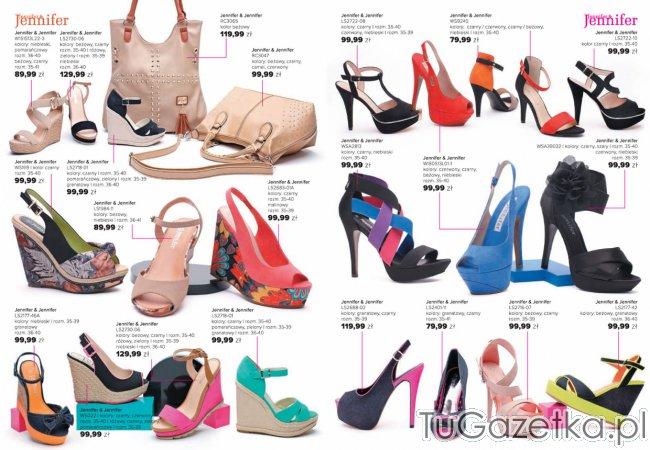Modne buty na wiosnę Jennifer CCC, Obuwie i galanteria