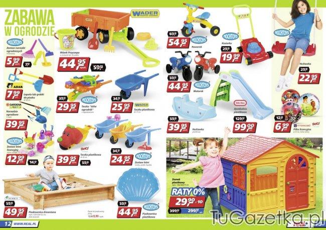 Meble Ogrodowe Dla Dzieci Biedronka : Zabawki dla dzieci ogrodowe piaskownica domek Real, Dla dzieci