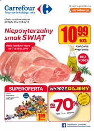 Carrefour Gazetka oferta handlowa ważna od 18.12 do 24.12.2013