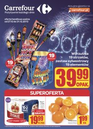Carrefour Gazetka od 2013.12.27 do 2013.12.31