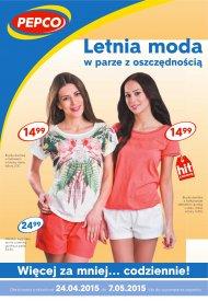 bb3f90d704 Pepco Gazetka odzież damska letnia