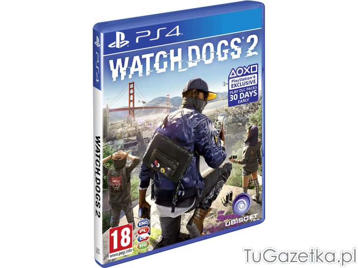 Gra PS4. Watch Dogs